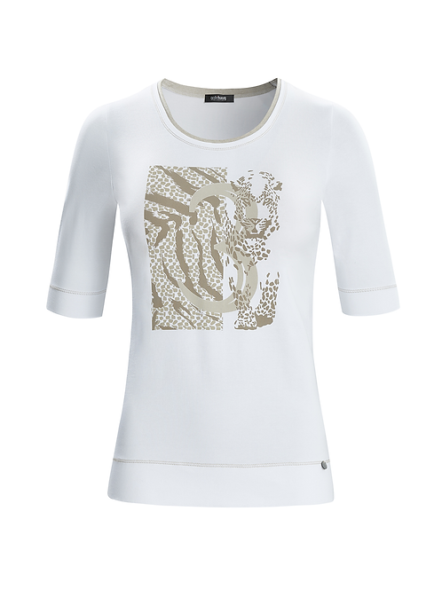 Gollehaug White T-Shirt