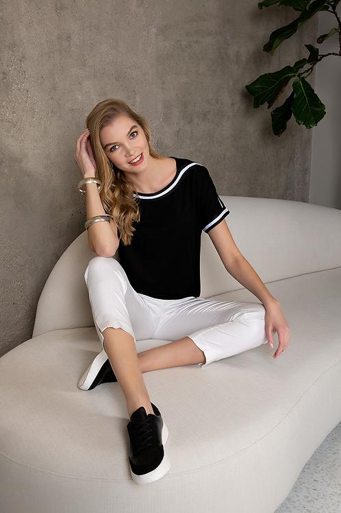 Passioni Black/White T-Shirt
