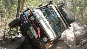 Adrenalinsko potovanje čez prelaz Van Zyl s terenci - Namibija