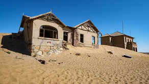 Kolmanskop - Mesto diamantov in duhov v puščavi Namib