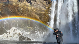 Slap Skógafoss Islandija