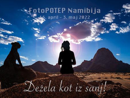Namibija FotoPOTEP - potovanje po deželi najlepših kulis