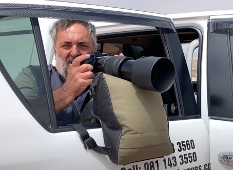Fotografiranje iz avta / pripomoček za nestresene fotografije