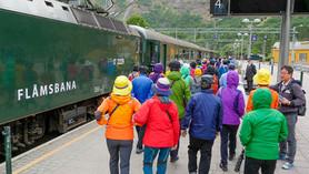 Norveška - Flåmsbana - Flamska železniška proga