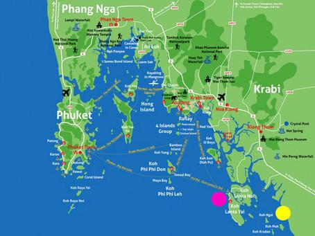 Izlet na 4 otoke (Emerald cave) / FotoPOTEP Tajska