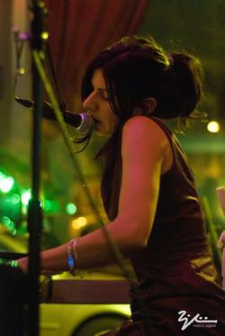 Evy Arnesano live Jamboree 4 dicembre 2010.