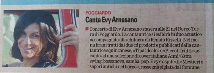 2015 Evy Arnesano live