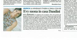 Il resto del Carlino_22-02-11. Evy Arnesano