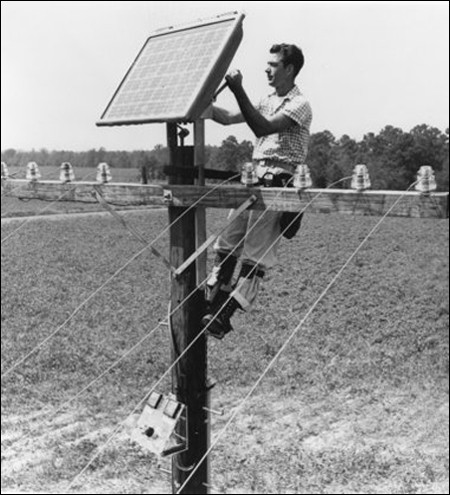 solar power use in history