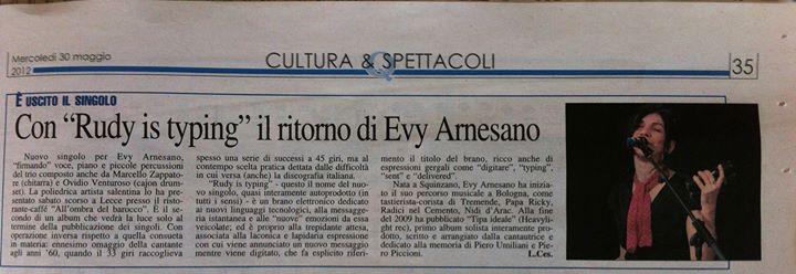 2012 Evy Arnesano