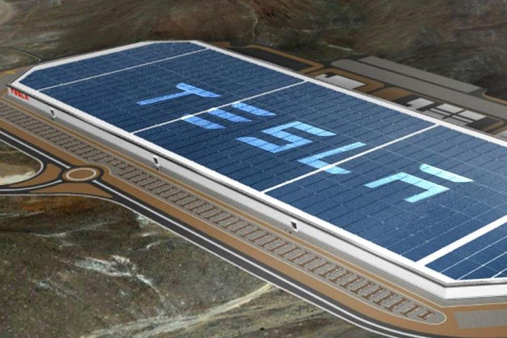 Tesla solar farm