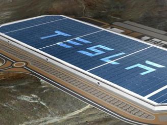 Tesla's Gigafactory and a 70-Megawatt Solar Farm