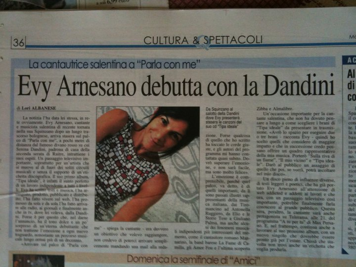 2011 evy arnesano Serena Dandini