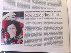 2014 Evy Arnesano live
