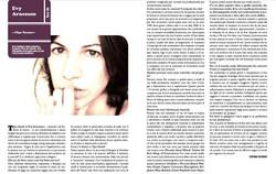 Evy Arnesano. sentireascoltare aprile 2010.
