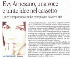 2010__Evy Arnesano La Gazzetta del Mezzogiorno