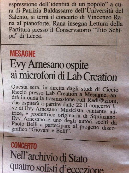 2011 Evy Arnesano