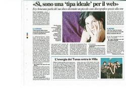 Evy Arnesano Il Resto del Carlino 2010.
