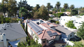 solar panel install in Sherman Oaks, CA