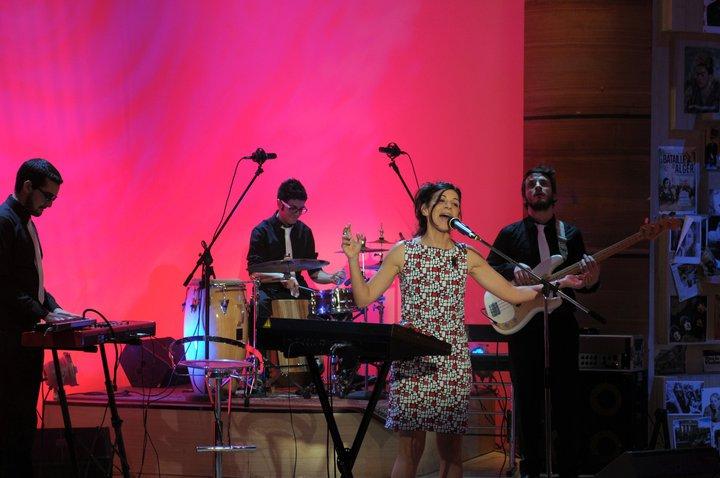 2011, Evy Arnesano a Parla con me