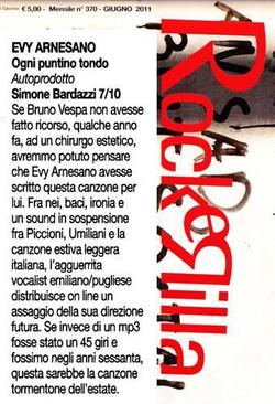 Rockerilla giugno 2011, Evy Arnesano