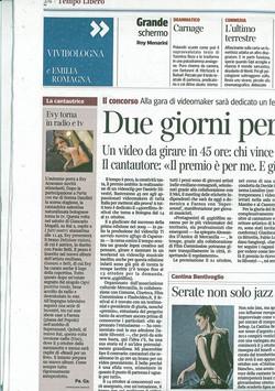 Evy Arnesano, Il Corriere della Sera Bologna 23/09/2011