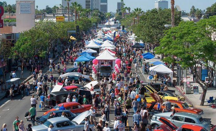 Sherman Oaks Street Fair 2018