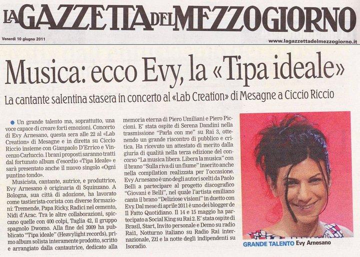 2011. Evy Arnesano Tipa ideale