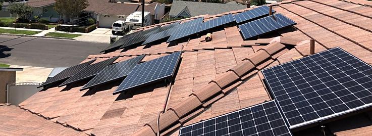 solar panel home installation