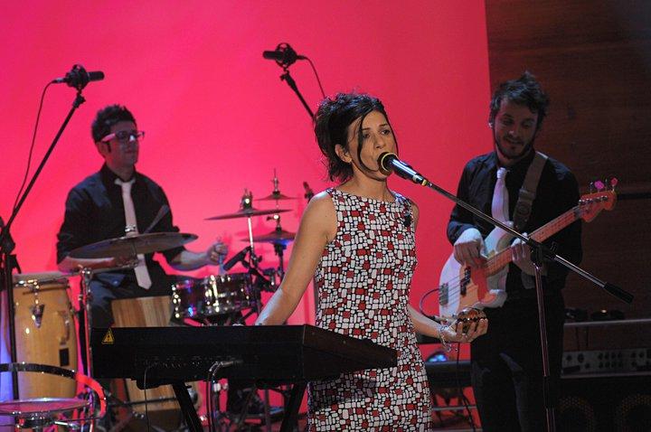 2011 Evy Arnesano a Parla con me Rai 3