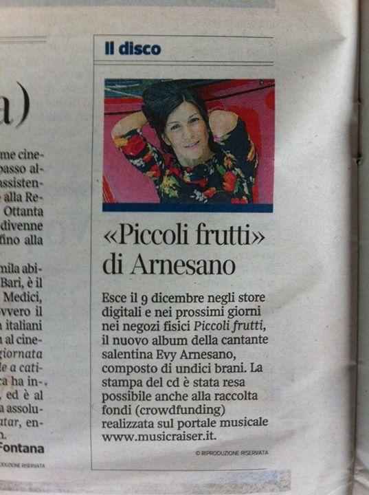 2013 Evy Arnesano Piccoli frutti