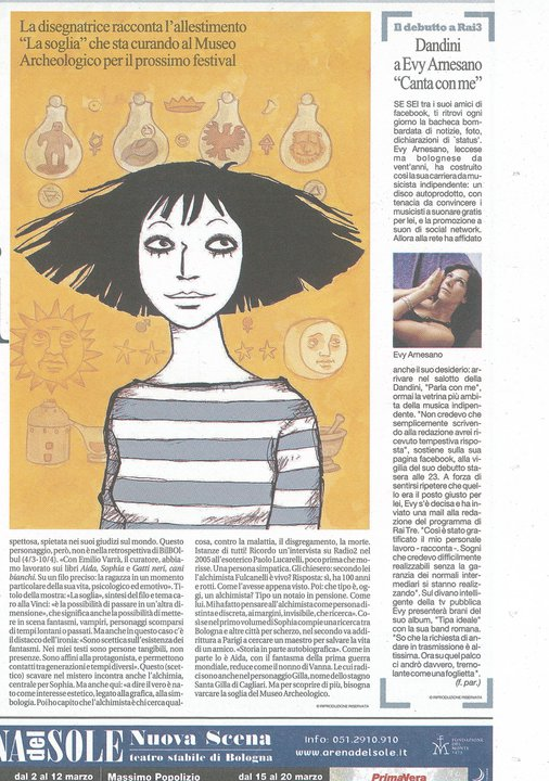 La Repubblica 22_02_2011_ Evy Arnesano
