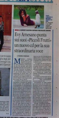 2013 Lecce e Brindisi. Evy Arnesano