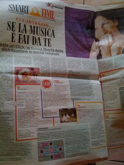 Evy Arnesano, Il Fatto Quotidiano, 2010 _Smartime