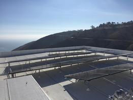 Roof top solar panels