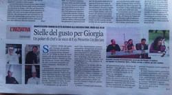 2014 Stelle del gusto per Giorgia Evy Arnesano live