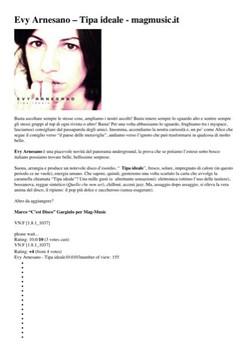 Evy Arnesano, Tipa ideale, recensione
