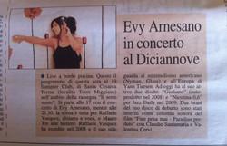 2015, 8 agosto Evy Arnesano live