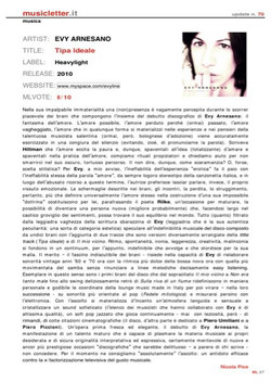 Evy Arnesano Tipa ideale Recensione