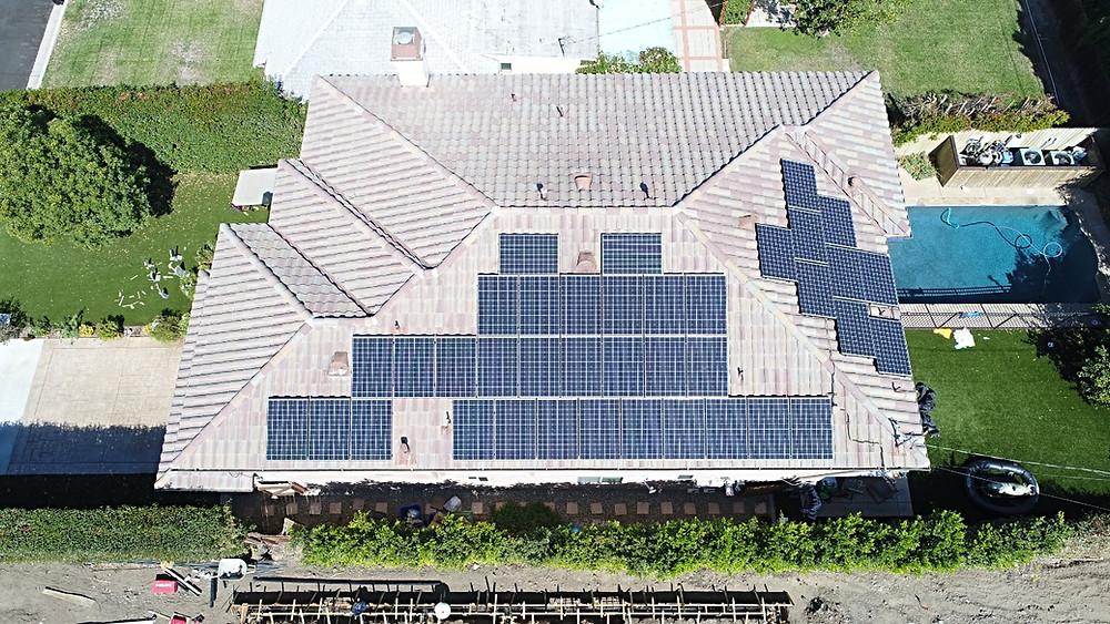 solar panels for residential home