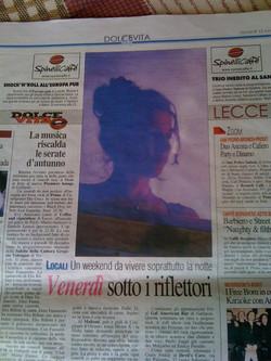 2010 quotidiano di Lecce Evy Arnesano