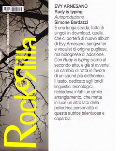 Rockerilla luglio 2012 Evy Arnesano