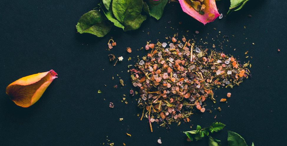 Rose and Himalayan Sea Salt Foot Soak