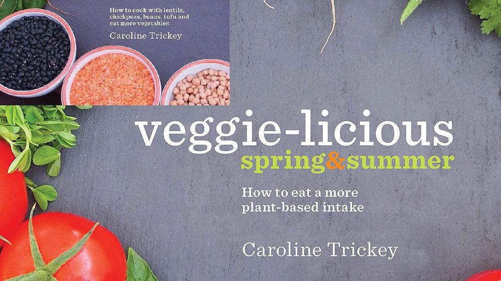 veggie-licious autumn winter + spring summer e-books