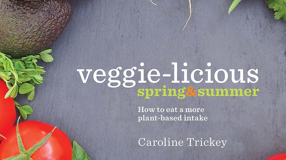 veggie-licious spring summer e-book