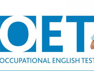 OET accepted for UK Nursing Registration