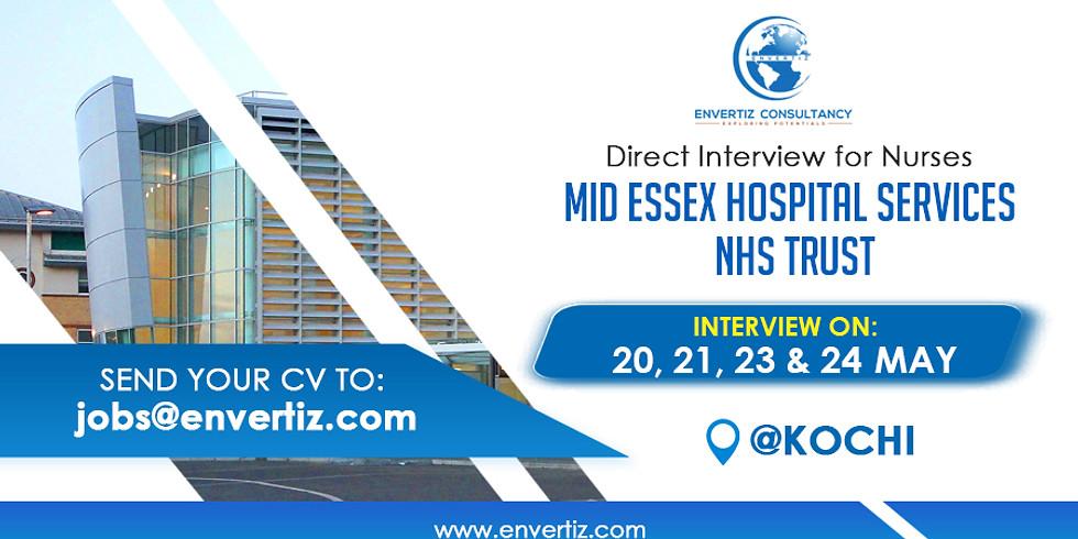 Free Nurses Recruitment to NHS UK