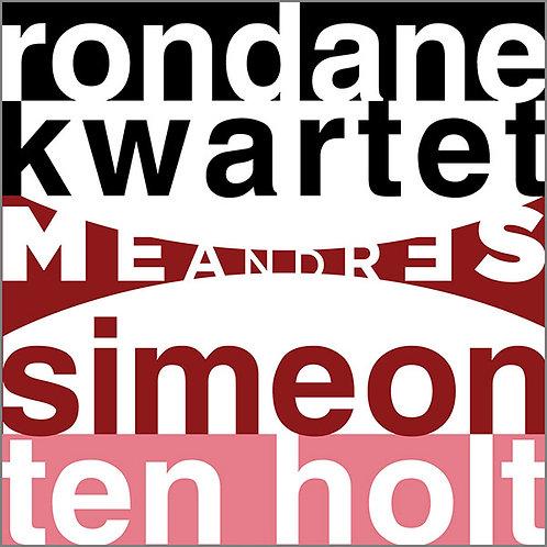 Meandres 2-CD Rondane Kwartet