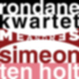 CD Meandres Rondan Kwartet