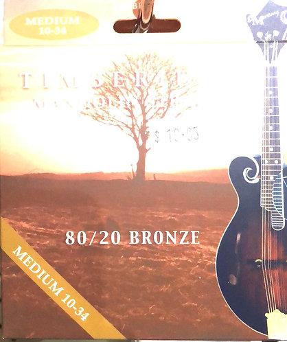 Timberidge Mandolin Strings Medium